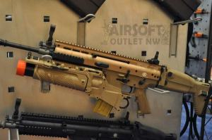FNH SCAR-L EGLM Airsoft Rifle Mk16 FN Herstal SCAR Light