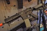 Knight's Armament SR-16 CQB airsoft Rifle VFC KAC SR16 at SHOT Show